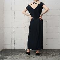 Back Cross Design Dress BK
