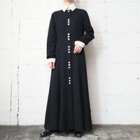 Bicolor Long Dress BKWH