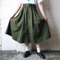 Tuck Flared Skirt KA