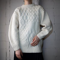 Crazy Pattern Fisherman's Sweater