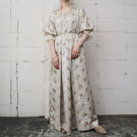 Christian Dior Flower Pattern Robe IVPIGR