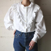 Frilled Design Blouse WH