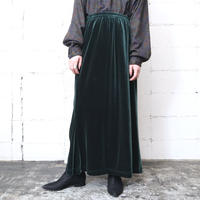 Velour Semi Flared Skirt GR