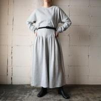 Cut&Sewn Flared Dress GR