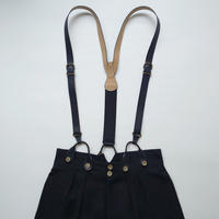 COACH Leather Suspenders BK