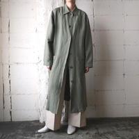 Linen Mix Long Coat KA