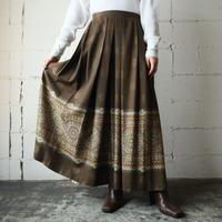 Arabesque Pleated Skirt BR