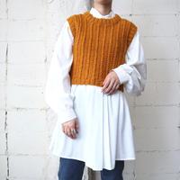 Short Knit Vest OR