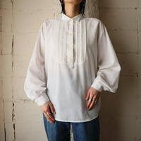 Pleated Bosom Blouse WH