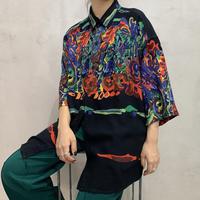 Art Design Short Sleeve Shirts BK