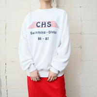 """CHS"" Print Sweat WH"