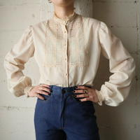 High Neck Lace Blouse BE