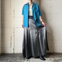 Shiny Flared Skirt SV