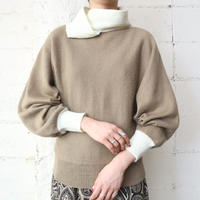 Bicolor Design Sweater IVBE