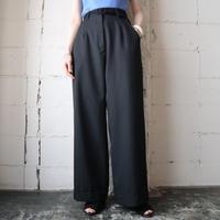 Shadow Stripe Wide Pants BK
