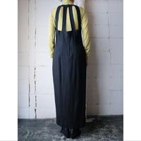 Back Design Sleeveless Dress BK