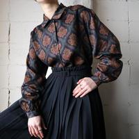 Arabesque Pattern Blouse NV
