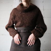 Mohair Turtle Neck Sweater BR