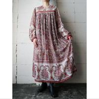 Vintage Indian Cotton Dress RE
