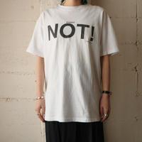 NOT!  T-Shirt WH