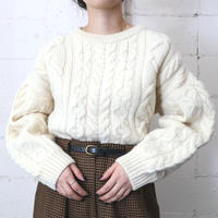 Dropped Shoulder Fisherman's Sweater IV