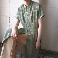 Leaf Pattern China Dress GN
