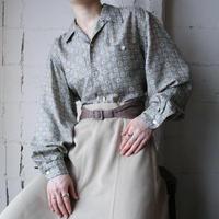 Small Pattern Rayon Shirt GR
