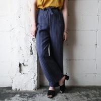 Stripe Linen Pants BLBR