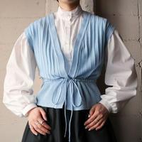 Drawstring Knit Vest LBL