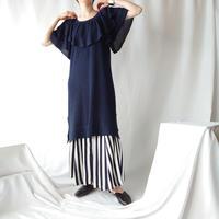 Tiered Design Knit Dress NV