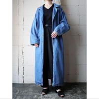 Denim Long Coat BL
