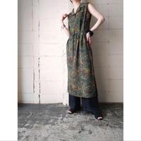 Paisley Pattern Dress Sleeveless GR
