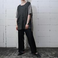 Big pocket panel blouse GR