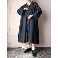 Wide Silhouette Coat Dress BK