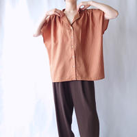 French Sleeve Stripe Blouse ORBR