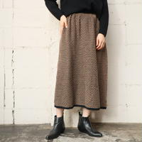 Pattern Knit Skirt BKBE