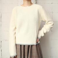 Tuck Hem Knit Sweater IVGR