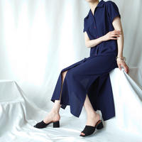 Open Collar Shirt Dress NV