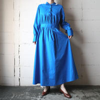 Waist Gather Design Dress BL