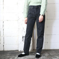 Levi's512 Black Denim