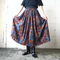 Paint Pattern Easy Skirt BRGRBL