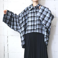 Check Flannel Big Shirt Jacket GR