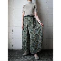 Pattern Wide Pants GR