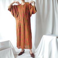 Wide Silhouette Pattern Dress BRRE