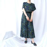 Paisley Pattern Rayon Dress GR