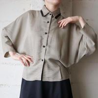 Dolman Sleeve Stripe Shirt BKIV