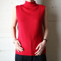 Mock Neck Sleeveless Knit RE