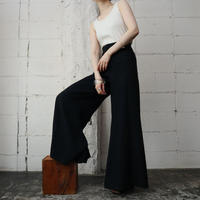 60's Vintage Flared Pants BK