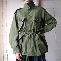 Drawstring Military Jacket KA