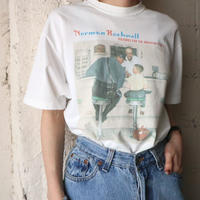 ''Norman Rockwell'' Print Tee WH